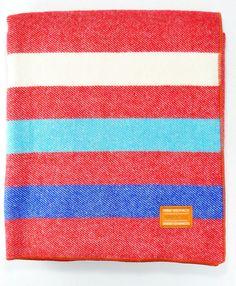 Faribault Red Backseat blanket - Pierrepont Hicks $198