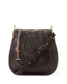 Chloe Hayley Small Suede Hobo Bag - Chloe Handbags 2015 Clare Wright Keller-1