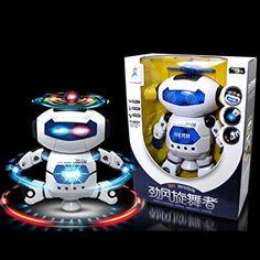 Amazon.com: OVERMAL Electronic Walking Dancing Smart Space Robot Astronaut Kids Music Light Toys: Toys & Games