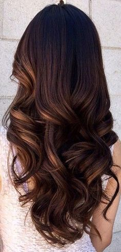 Wavy Hairstyles Entrancing Smoky Balayage Wavy Hairstyle For Long Hair Half Up Wavy Bob Would