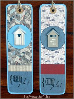 marque pages Mail Tag, My Bookmarks, Animal Crafts For Kids, I Love Reading, Practical Gifts, Unusual Gifts, I Love Books, Stamping Up, Mini Albums