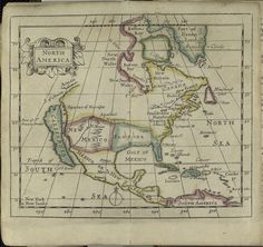 North America. (1690) (John Seller, cartographer)
