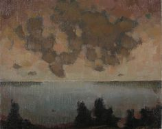 "Paula Rubino, ""Limbo"" - 8x10, oil on linen on board--at Principle Gallery"
