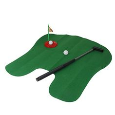 Imported Potty Putter Toilet Time Mini Golf Game Novelty Gag Gift Toy