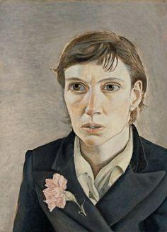 Lucian Freud  Portrait of a Woman  1949