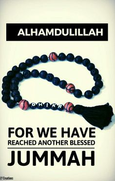 Alhamdulillah  Its friday