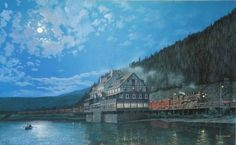The Hotel Sicamous Freight Transport, Train Art, Grand Hotel, Clay Beads, Palaces, Old World, Old Photos, Castles, Affair