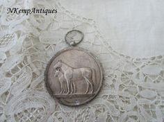 Old horse medal /pendant