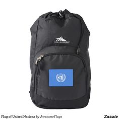 Flag of United Nations Backpack