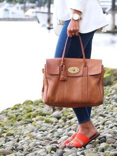 Classic Mulberry Bayswater Handbag