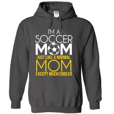 I'm A Soccer Mom T Shirts, Hoodies, Sweatshirts - #polo #cute hoodies. ORDER NOW => https://www.sunfrog.com/Sports/Im-A-Soccer-Mom-Charcoal-Hoodie.html?id=60505