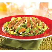 T.G.I. Fridays Pecan-Crusted Chicken salad. Cant wait to make this!! From Tastebook