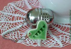 Sweet Tea Infuser Tea Ball Heart Charm