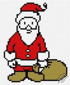Santa I - Free Cross Stitch Pattern