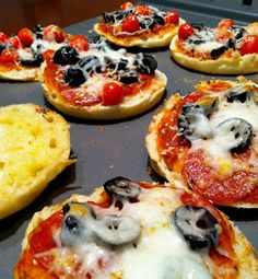 March 28-English Muffin Pizza Pies