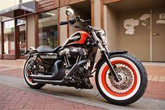 48 Sportster 48, Custom Sportster, Harley Davidson 48, Forty Eight, Cafe Racers, Cool Bikes, Big Boys, Motorbikes, Hot Wheels