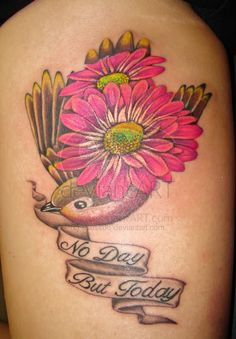 daisy tattoos - Google Search