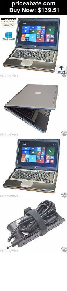 Computers-Tablets-And-Networking: Dell Laptop Latitude Windows 8.1 Core 2 Duo 4gb Ram DVDRW WIFI Computer Win 8 HD - BUY IT NOW ONLY $139.51