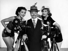 Ann Miller, Red Skelton and Arlene Dahl, Watch the Birdie
