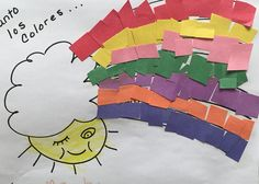 Learning the colors in Spanish. #los colores, #brookeside #montessori