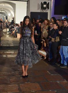 Pasarela de inauguración de la segunda versión Bogota Fashion Week.  Diseñadora: Amelia Toro