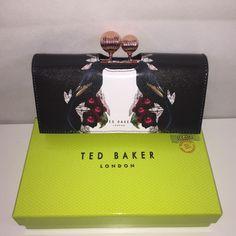 5aa58cedac $165 Ted Baker London Bejewelled Shadow Print Matinee Wallet Clutch In Gift  Box #TedBaker #