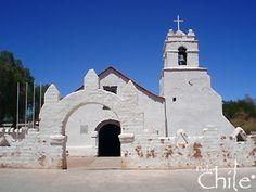 Iglesia de San Pedro de Atacama , Chile