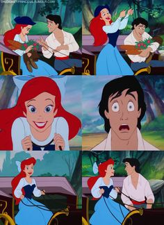 Ariel and Eric's Trip ... love the little mermaid<3