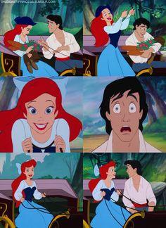 Ariel and Eric's Trip ... love the little mermaid<3