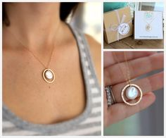 Mother of the Bride Gift, Mother's Necklace, Mother of the Groom Gift, GOLD Eternity Necklace, Circle Pendant, Pearl Necklace, Mom Gift Tag by LRoseDesigns on Etsy https://www.etsy.com/listing/124947280/mother-of-the-bride-gift-mothers