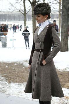 Miroslava Duma - Russian design. Really different, but cool look.