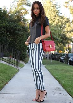 Ashley Madekwe style. I want those pants!