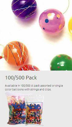Standard YoYo Balloon Starter Kits