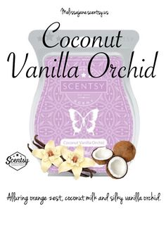 Scentsy 2016 | Coconut Vanilla Orchid |New release | Fall & Winter…