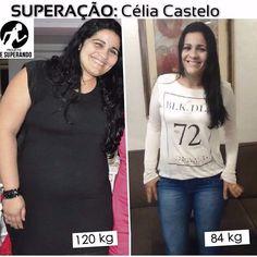 """Quer um exemplo de superação?? Essa é a Celia do @projeto_mesuperando Ela já chegou a 120kg  e com reeducaçao alimentar e atividade física ela já eliminou 35 kg !!! Ela ainda está na luta e compartilha sua alimentação e rotina como ela sempre diz: """" SE EU CONSEGUI VC TAMBÉM CONSEGUE!"""" vale muuuito a pena seguir e acompanhar essa evolução.  super indico  @projeto_mesuperando @projeto_mesuperando  #gym #muscle #frangocombatatadoce #instafitness #emagrecer #boaforma #mesuperando #projetomaromba…"""
