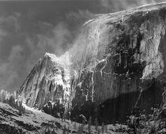 Ansel Adams, HALF DOME, BLOWING SNOW