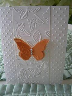 Embossing & butterflies