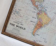 World map poster world map quote poster wall decor world map a place to display my travel magnets wall decor large magnet board magnetic board dry erase board framed bulletin board classic world map design gumiabroncs Choice Image