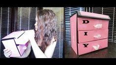 diy shoebox storage - YouTube
