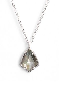 Free shipping and returns on Kendra Scott 'Cory' Semiprecious Stone Pendant Necklace at Nordstrom.com. A faceted, prong-set semiprecious stone shimmers in a chic pendant necklace ideal for everyday wear and for layering with longer styles.