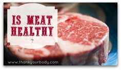 Is meat healthy? #meat #health #realfood