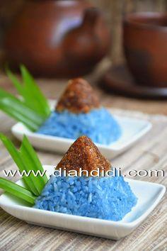 Diah Didi's Kitchen: Ketan Biru Bunga Telang Ku Yang Eksotis..^^