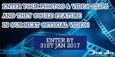 Send us your photos / videos to video@danilo.com of you / friends / family with your favourite Official Calendar(s) by 31st January 2017 & you could feature in our new video PLUS you could also #WIN £100!