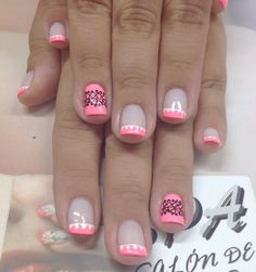 Uñas Love Nails, Fun Nails, Hair And Nails, Nail Designs, Nail Polish, Nail Art, Makeup, Beauty, Nail Bling