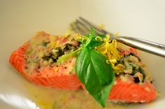 Salmon With Coconut Cream Sauce Recipe - Paleo Plan HelloSweetie gives this four thumbs up from her and hubby!!