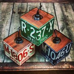 License Plate Pendant Lights - All For Decoration Car Part Furniture, Automotive Furniture, Automotive Decor, Automotive Engineering, Automotive News, Furniture Design, License Plate Crafts, License Plate Art, License Plate Ideas