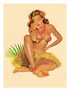 Vargas Girls Pin UPS | Artsy and Vintage Swimsuit Gallery