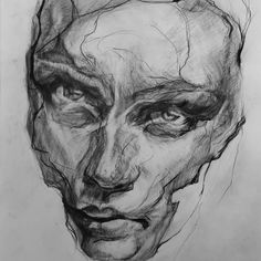 Drawn Mask, Mask Drawing, Paper Art, Saatchi Art, Portrait, Graphite, Drawings, Layers, Pencil
