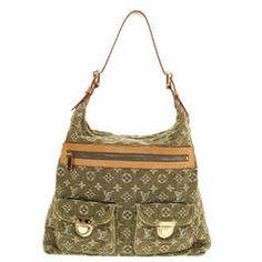 376e038ed781 Louis Vuitton Baggy Denim GM Vintage Bags