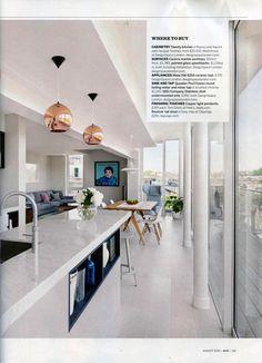 A Q&A with Luke Beveridge of DesignSpace London. http://www.designspacelondon.com/ Homes & Gardens August 2016